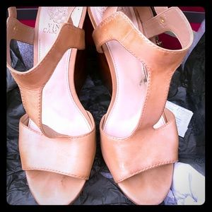 Vince Camuto Nude Wedge....Great for the summer